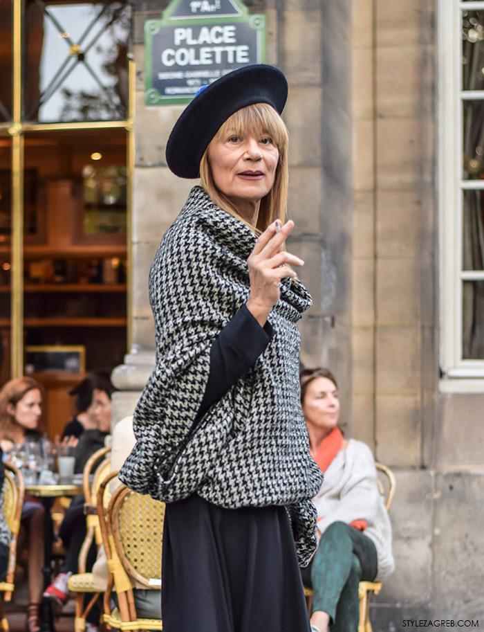 U Parizu sa stylish gospođom Tedeschi, Đurđa Tedeschi najnovije slike, osobni stil, ulična moda, street style