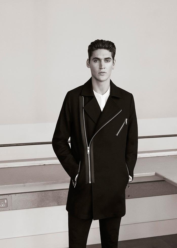 casual odijevanje za muškarce, inspiracija Pull&Bear Black Label