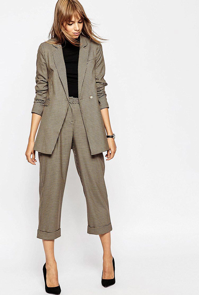 Stajling poslovni look, moderno odijelo