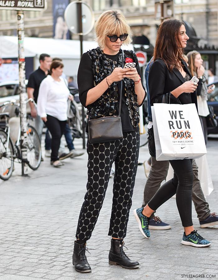 Ana Petričić Gojanović, Balmain H&M, #streetstyle Zagreb