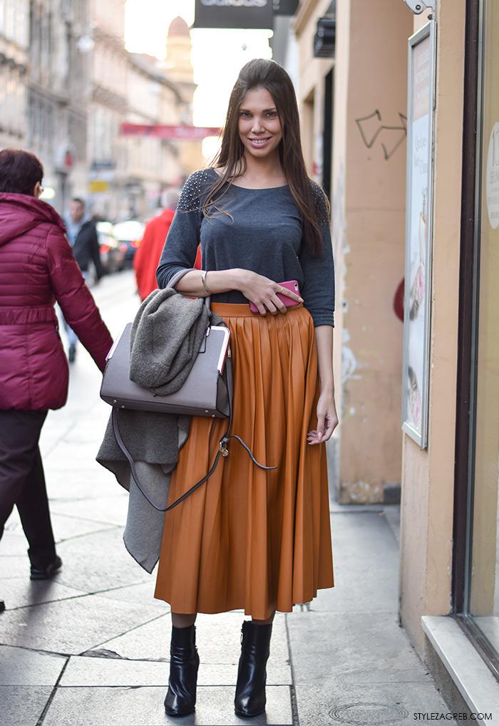 Street Look Zavele Su Nas Siva I Boja Karamele Style Zagreb
