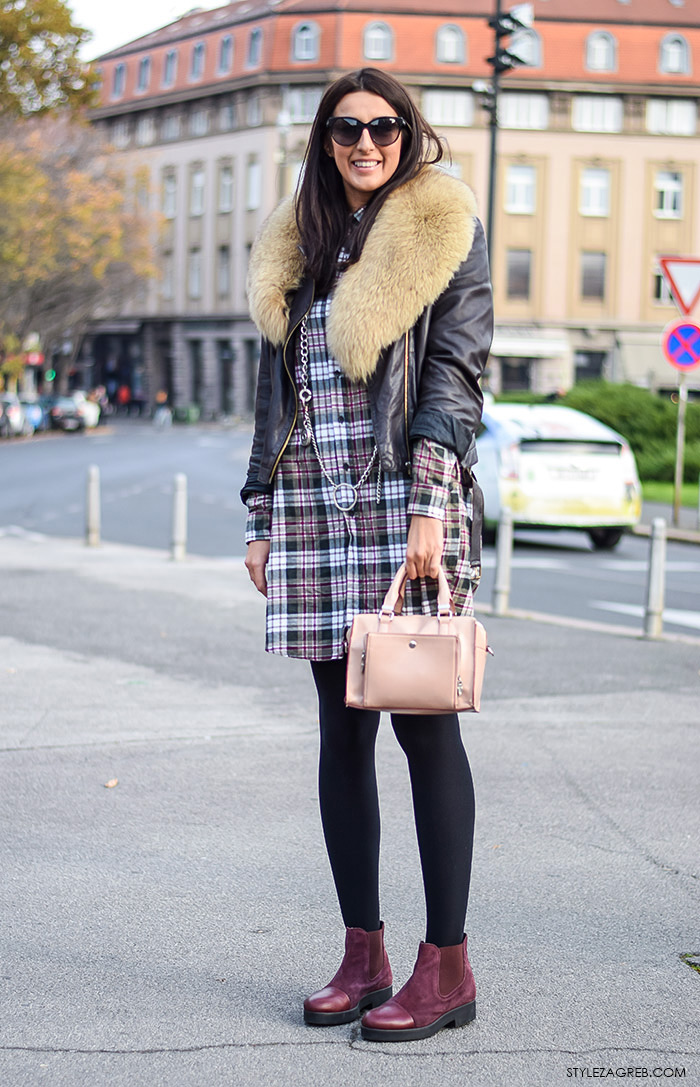 Street style moda advent Zagreb,
