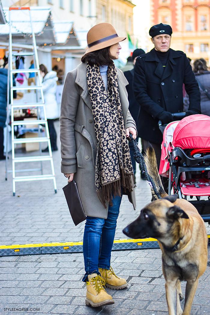 Street style moda advent Zagreb, Ninna Lara Vidaković, direktorica u izdavaštvu