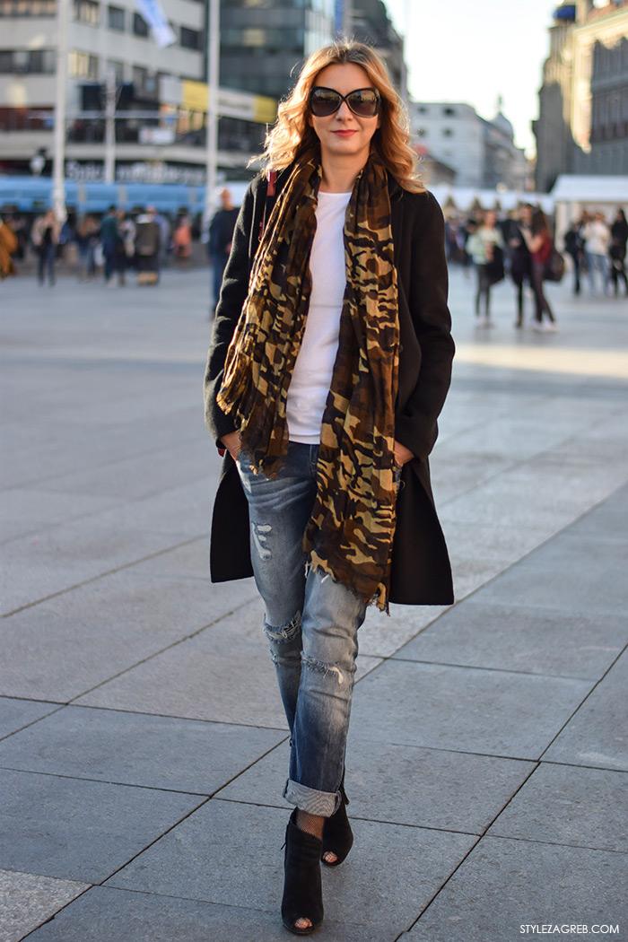 Volimo ih skupa: dugi šal i elegantan kaput, Anamarija Kronast