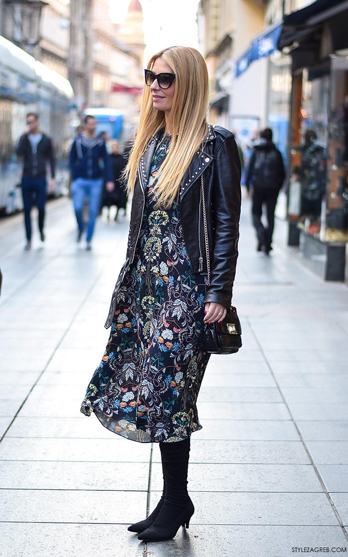 Chic odvjetnica Ana Olivari Pavličić, #ulicnamoda #streetstyle foto by StyleZagreb.com