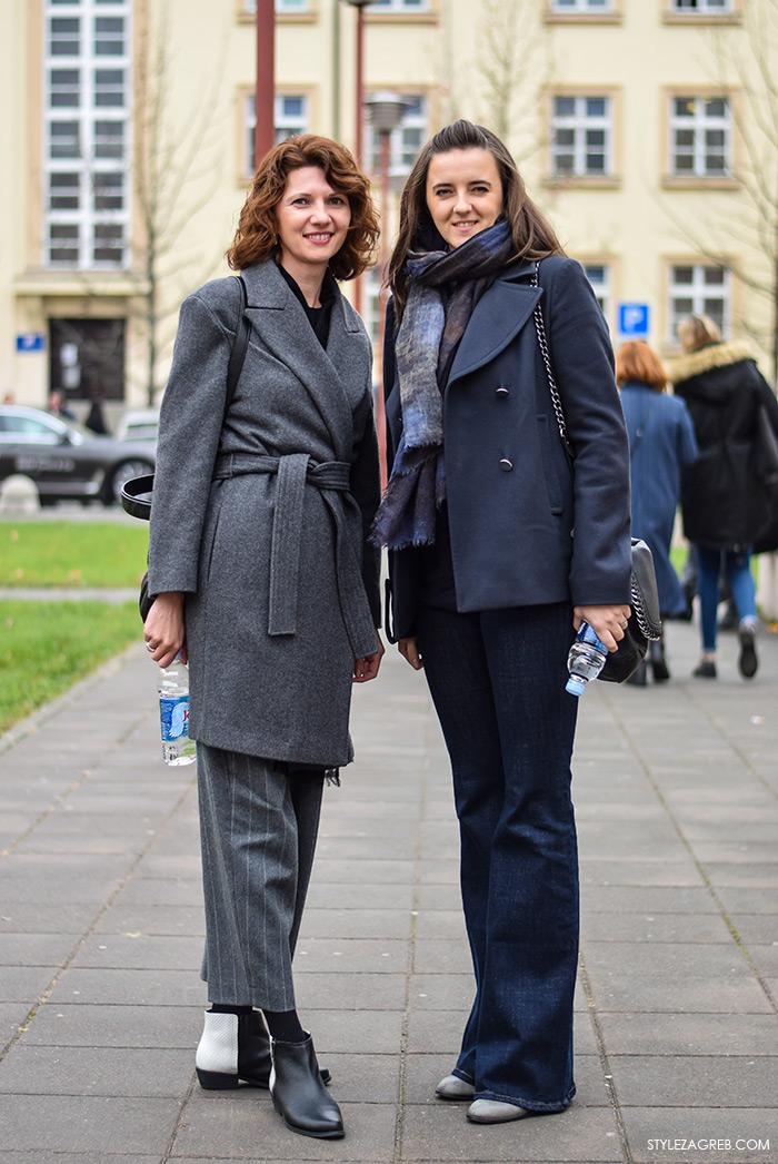 Zagreb street style, Nataša Jeličić i Stana Odak Krasić, profesorice s Verna