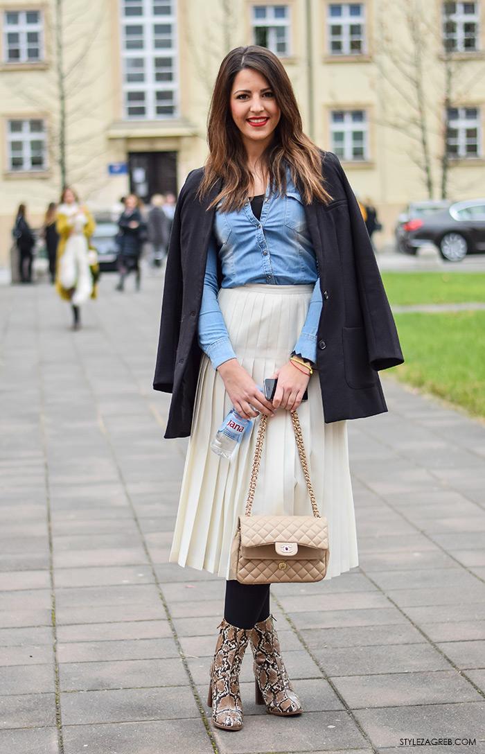 Zagreb street style moda, Franka Mudronja, menadžerica u turizmu