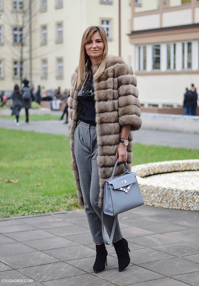 Zagreb street style moda, Ivana Rajić
