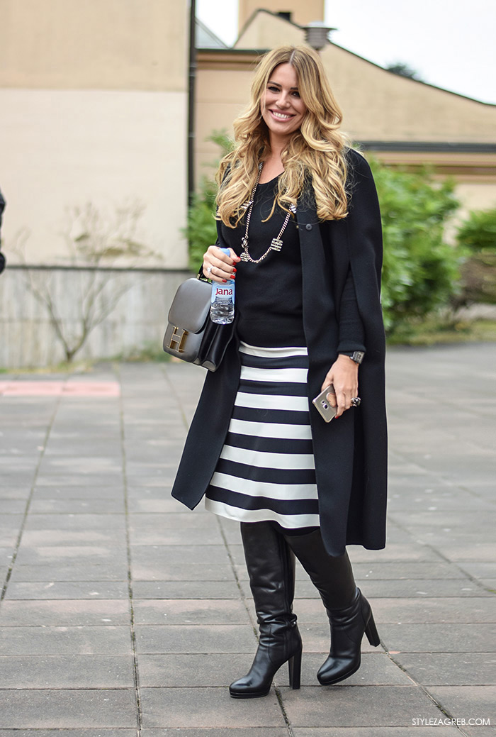 Zagreb street style moda: Iva Balent, izvršna direktorica marketinga Agrokora by StyleZagreb.com