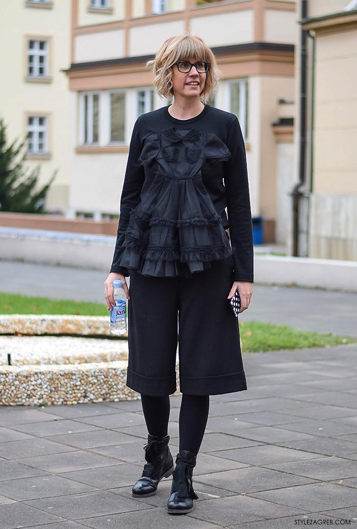 Zagreb street style moda, Ana Petričić Gojanović, vlasnica PRiredba Studija