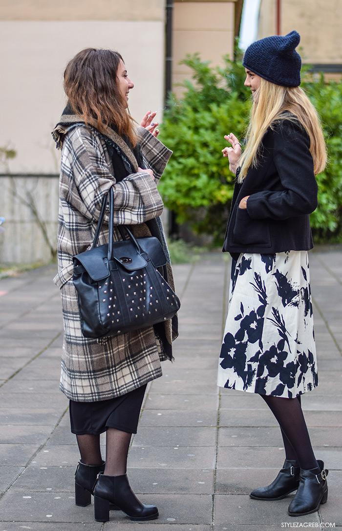 Zagreb street style moda, Nina Vujičić i Lejla Sekulić, studentice novinarstva