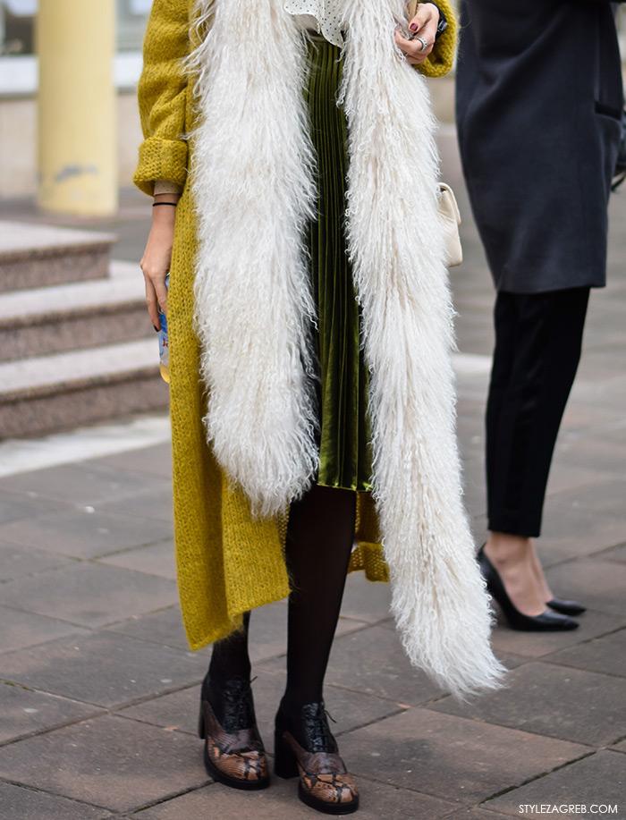 Zagreb street style moda, Milica Mihajlović, cipele s kocka petom