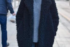 Lijep zimski street outfit: Franka Batelić by StyleZagreb.com