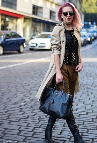 Zagreb street style, Nika Bijelić, #hmbalmain by StyleZagreb.com
