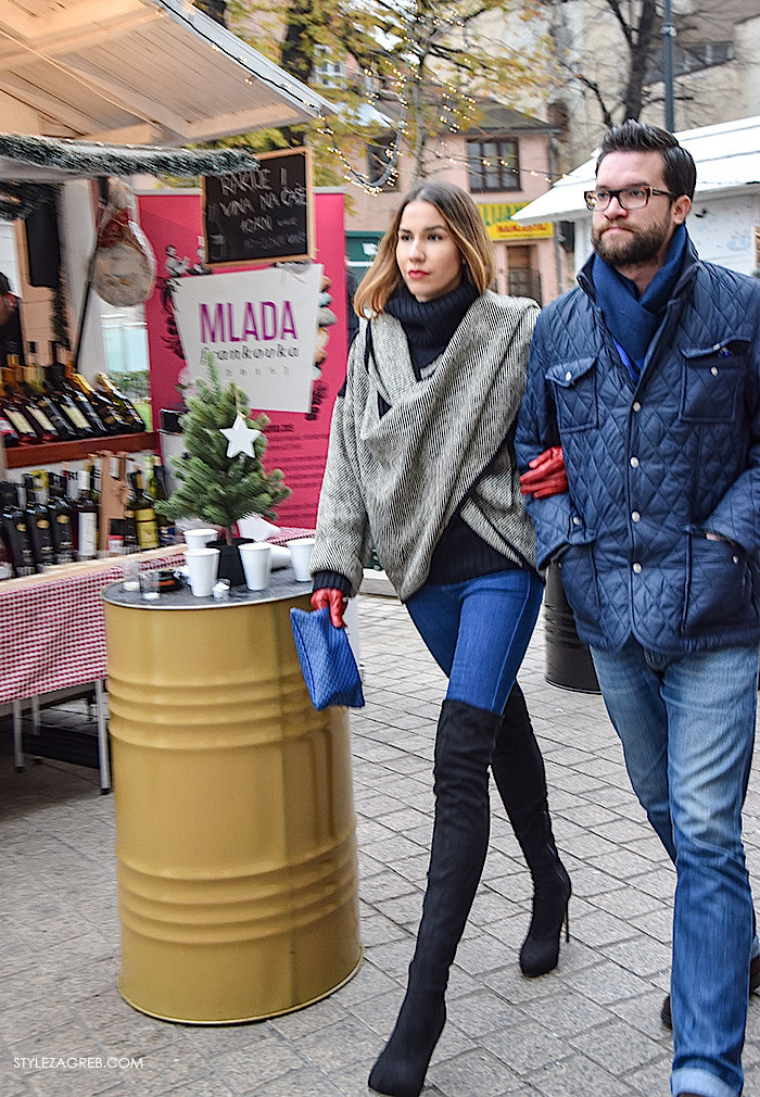 Advent street style Zagreb