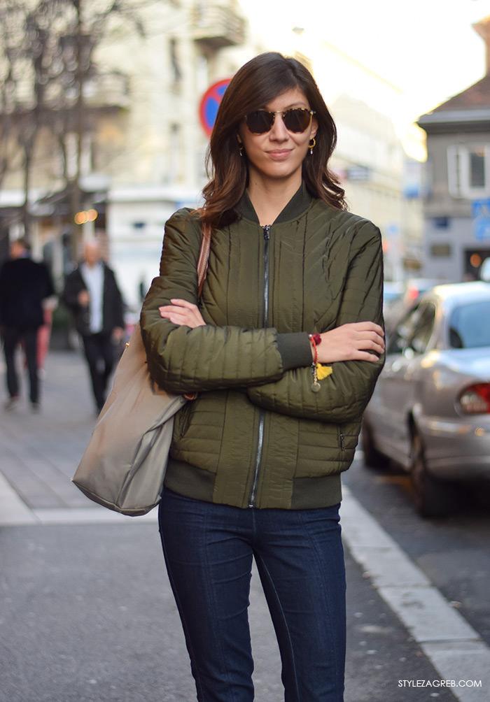 Časopis Gloria street style Zagreb prosinac 2015, Advent u Zagrebu, Dina Dončević