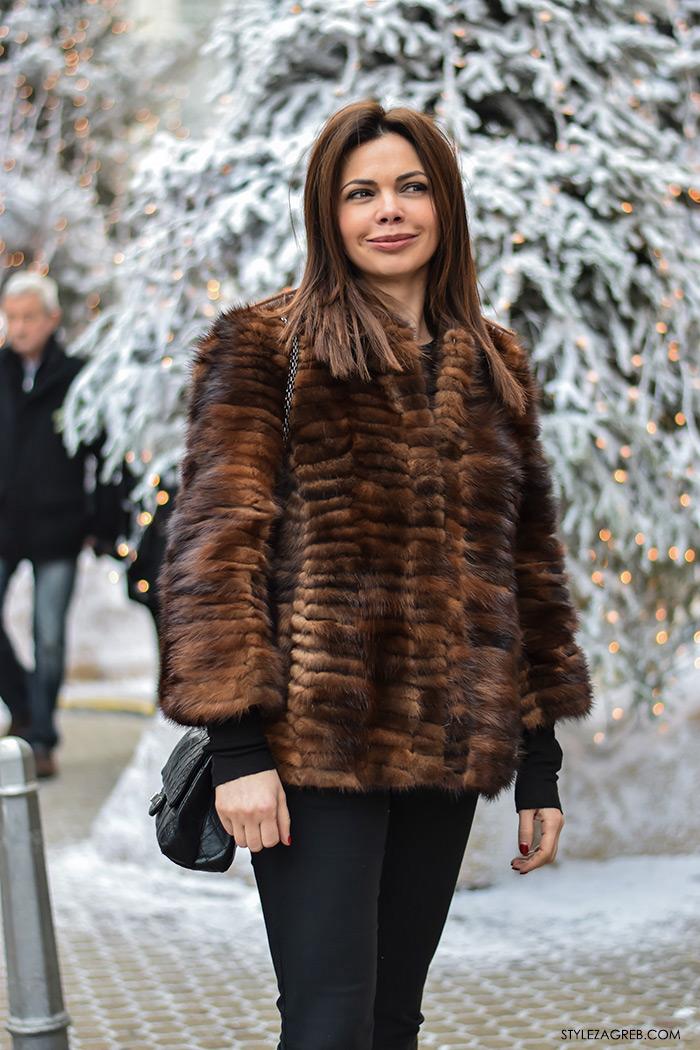 street style Zagreb zimska moda, kaputi bunde, Stylezagreb.com, Branka Petričević, direktorica marketinške agencije Sintagma media