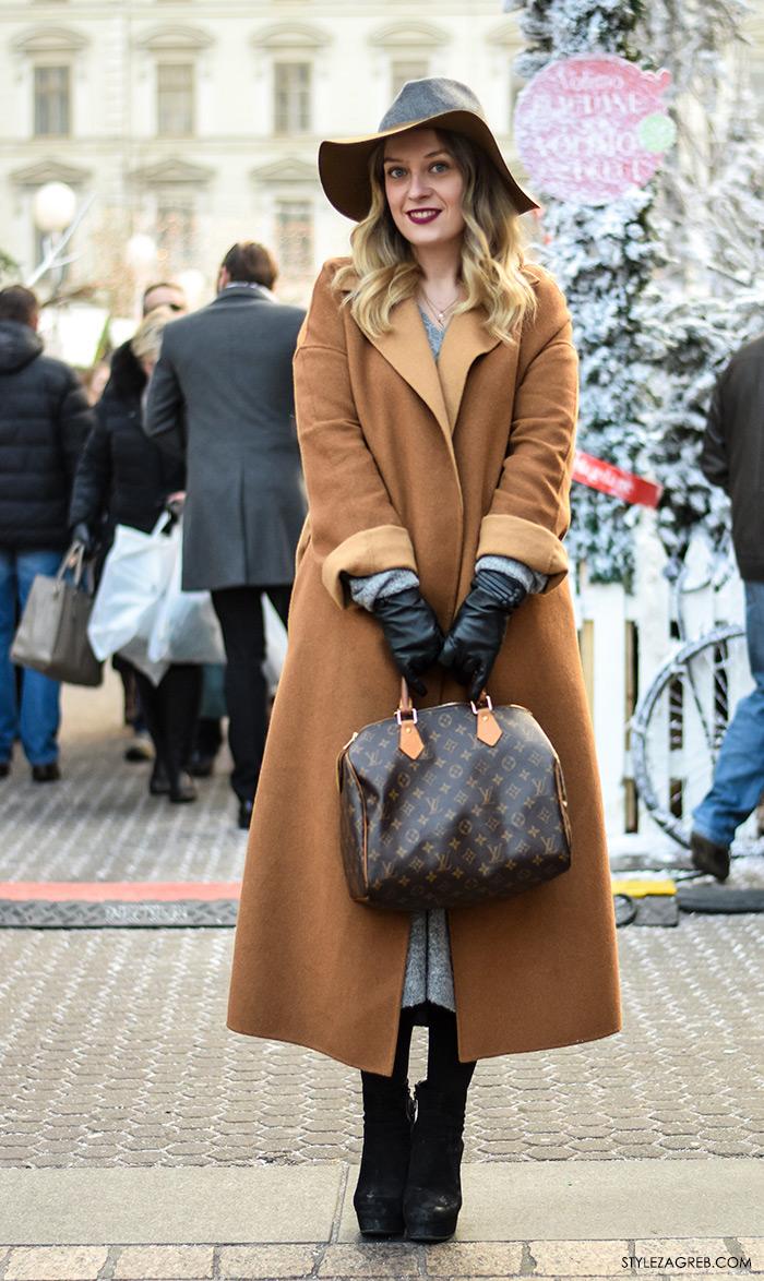 street style Zagreb zimska moda, kaputi bunde, Stylezagreb.com, Ena Vuletić, dr. stomatologije iz Berlina