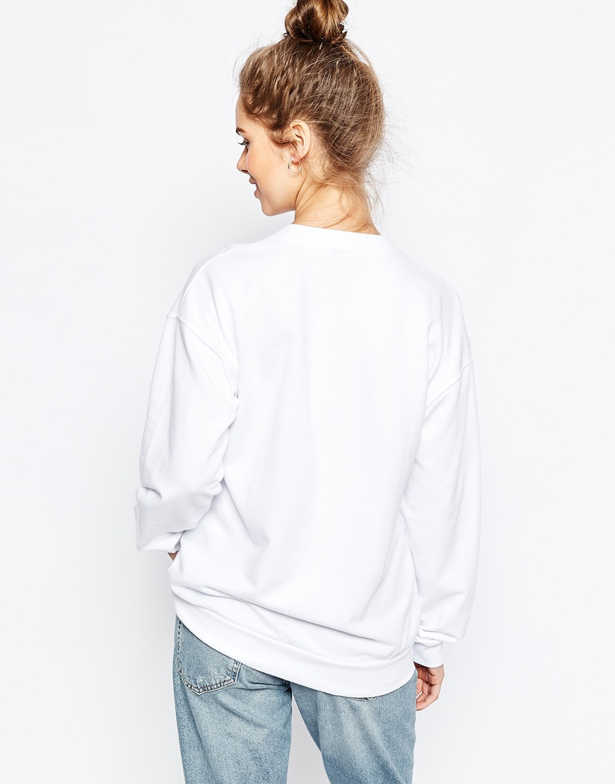 Što odjenuti za vikend, ASOS Sweatshirt with Cute Panda Print 2