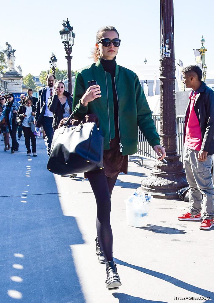 MODA: Kako kombinirati - street style outfit sa bomber jaknom