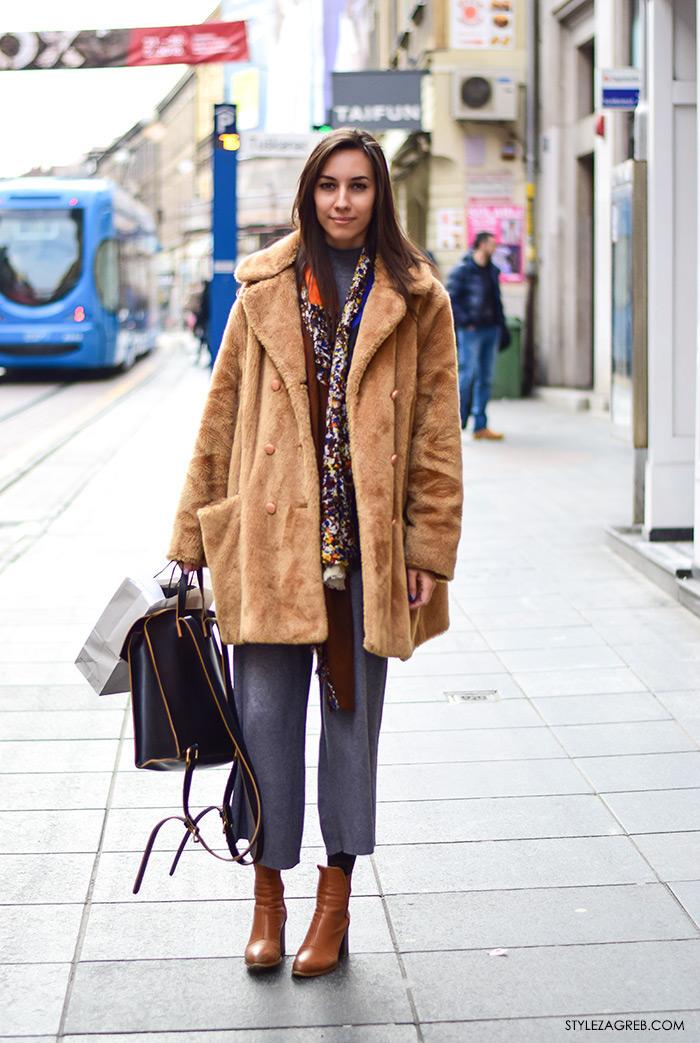 Kako kombinirati bundicu i čizme do gležnja, Zagreb street style ulična moda, subota špica, Marijana Gradečak, arhitektica