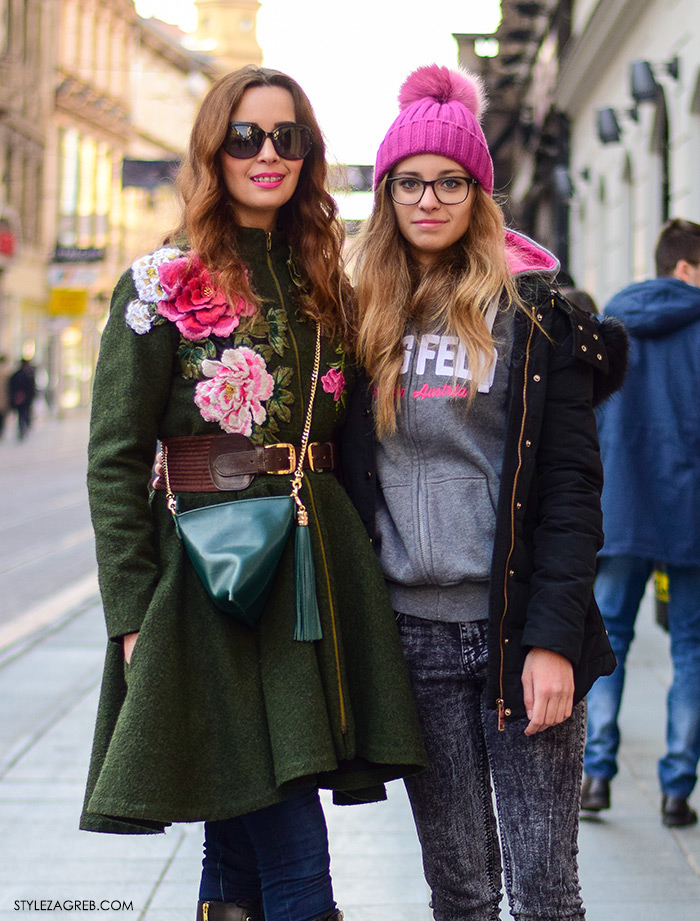 Zagreb street style: osobni stil Morana Saračević i kćerka Linda Saračević Boudoir dizajnerica