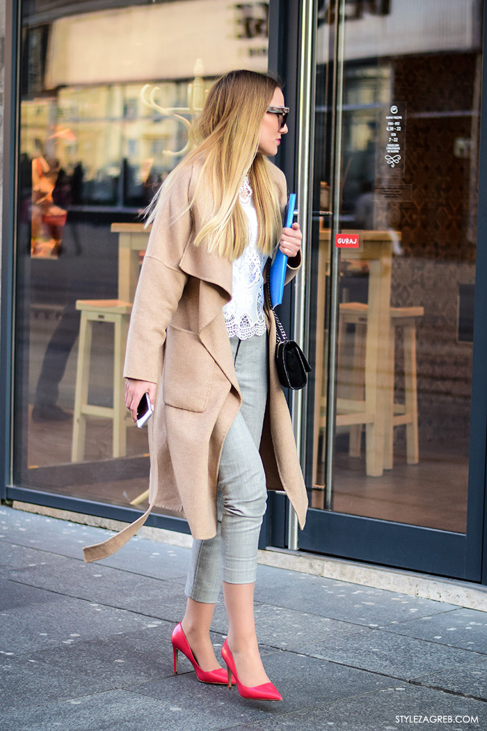 poslovni look za mlade žene žena moda fashion hr zagrebačka špica, kako se obuci za razgovor za posao slike, što obući za intervju za posao, street style Zagreb ulična moda poslovni outfit inspiracije