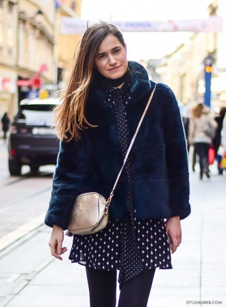 Lepršavi look za hladni dan by Style Zagreb; Ivana Jerković