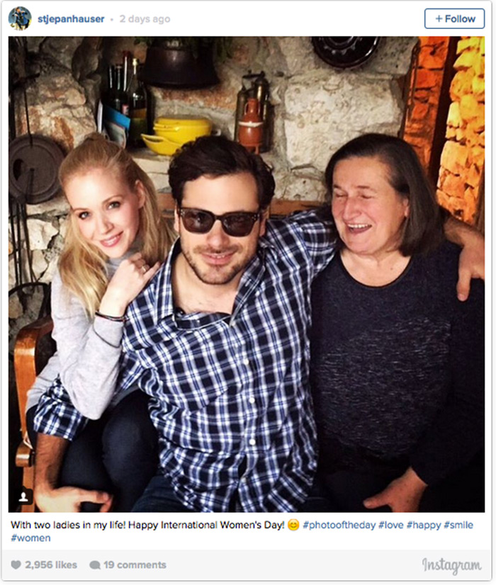 Stjepan Hauser instagram, Jelena Rozga i mama Hauser