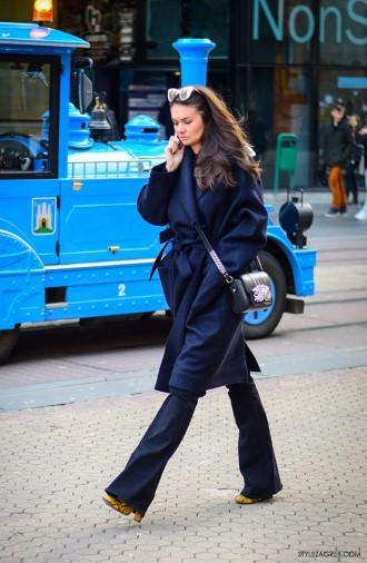 Gdje god se osvrnemo cure nose trapezice! Street style ulična moda by StyleZagreb.com