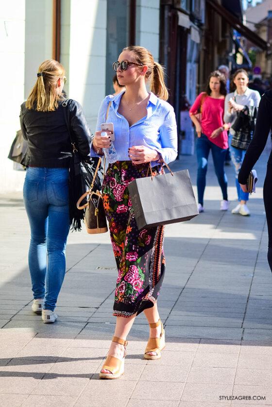 Suknja-hlače zavladale ulicom by StyleZagreb.com