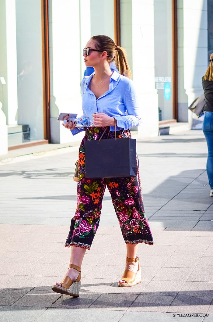 šos hlače Paula Helena Martinović instagram, MODA, kako kombinirati suknja-hlače, zagrebačka špica, modne kombinacije, Zagreb street style žena fashion hr trend portal zena forum hr