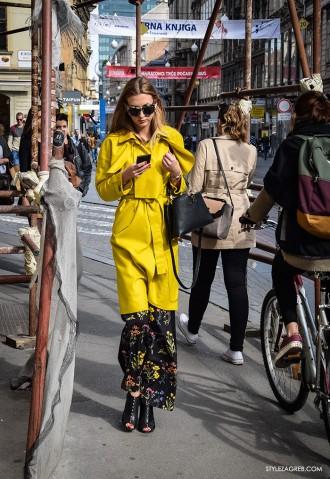 Zagreb street style proljeće moda na špici, Dora Juras Pivac
