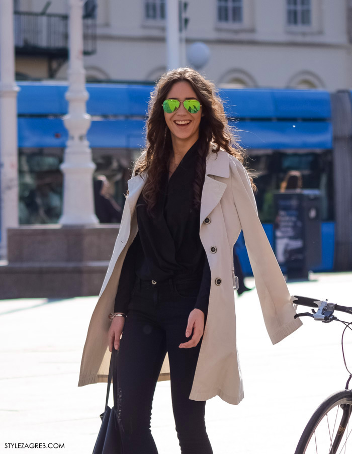 LEPRŠAVI BALONERI - kako cure kombiniraju baloner i metalizirane sunčane naočale, Zagreb street style proljetna moda fashion žena hr zagrebačka špica modne kombinacije trend portal zena forum hr by StyleZagreb.com