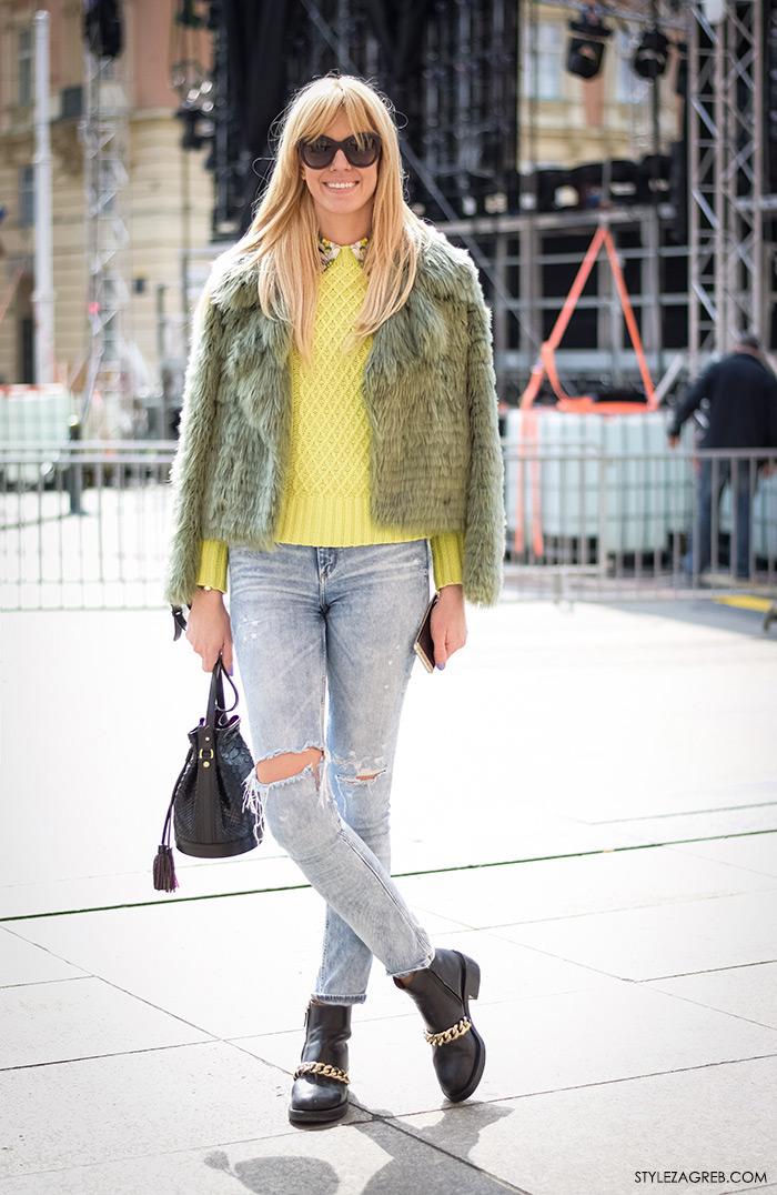 Alex Dojčinović, modna dizajnerica, proeljtna moda, street style Zagreb, žena moda fashion hr zagrebačka špica modne kombinacije