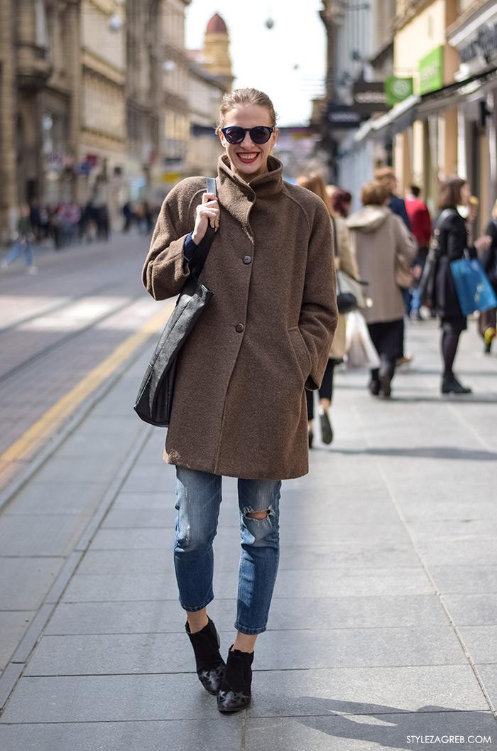 Klara Gržin, arhitektica, street style Zagreb, žena moda fashion hr zagrebačka špica modne kombinacije