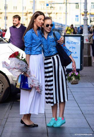 Kako nositi midi suknju, style raport by StyleZagreb.com