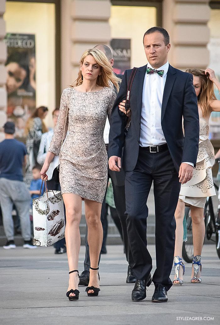 Street style Zagreb, ženska elegantna odjeća za vjenčanja, što odjenuti za vjenčanje