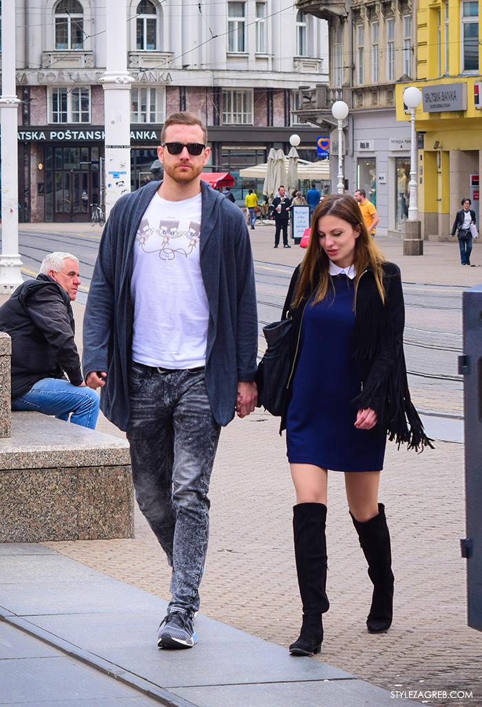 kako nositi jaknu s resama na rukavima i čizme preko koljena, cro moda street style zagreb žena ulična moda fashion hr zagrebačka proljetna špica modne kombinacije trend portal zena hr