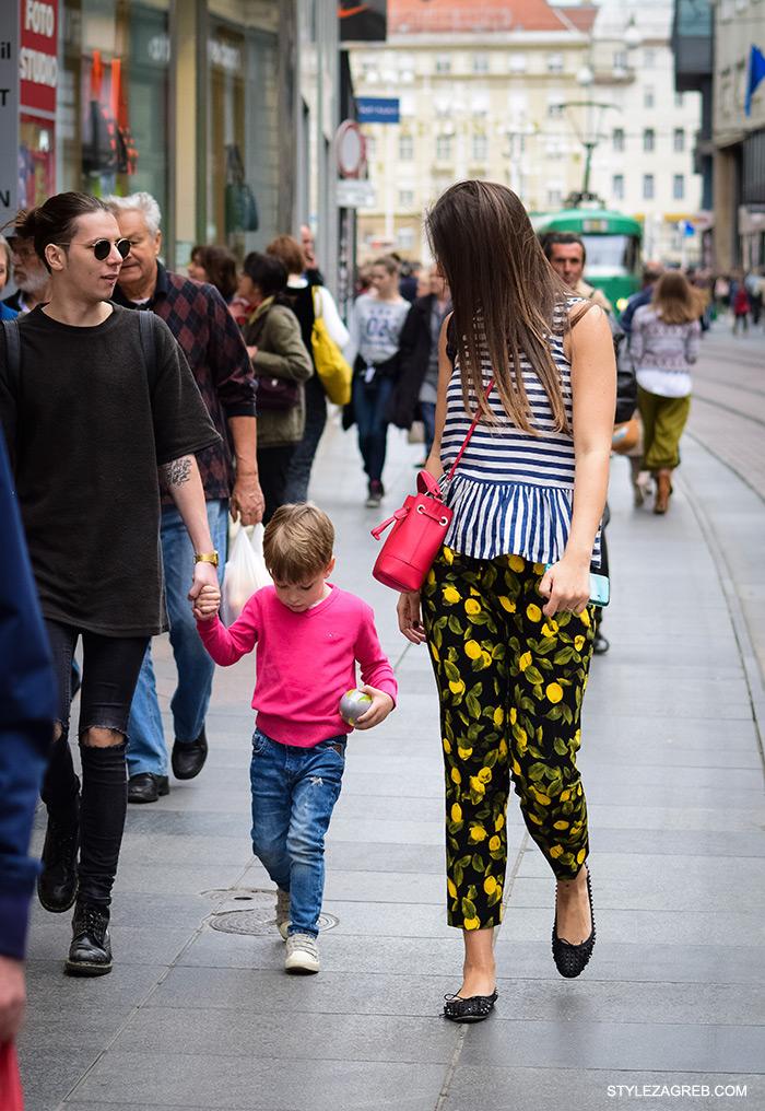 kako nositi prugasto i cvjetasto, Anastazija Makjanić Stazi Sweets, cro moda street style zagreb žena ulična moda proljeće fashion hr zagrebačka špica modne kombinacije trend portal zena hr