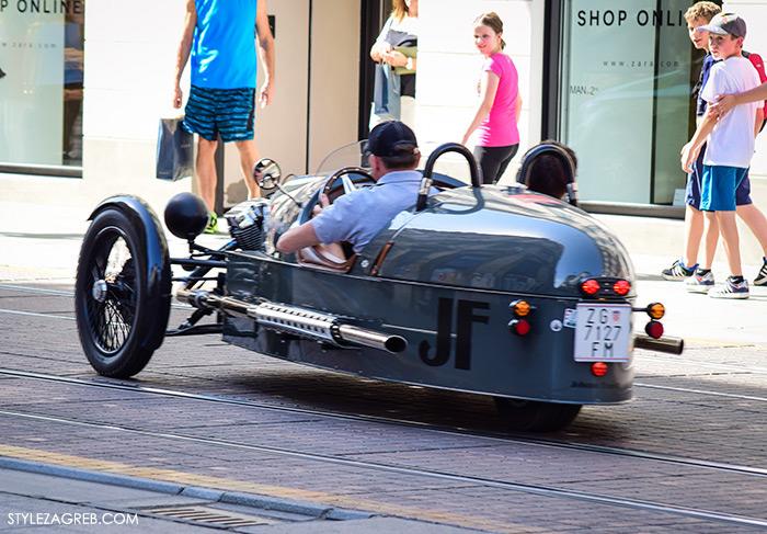 street style Zagreb Cest is d'Best program, ulična moda zagrebačka špica subota proljetna ženska moda, Johann Frank motor auto kabriolet