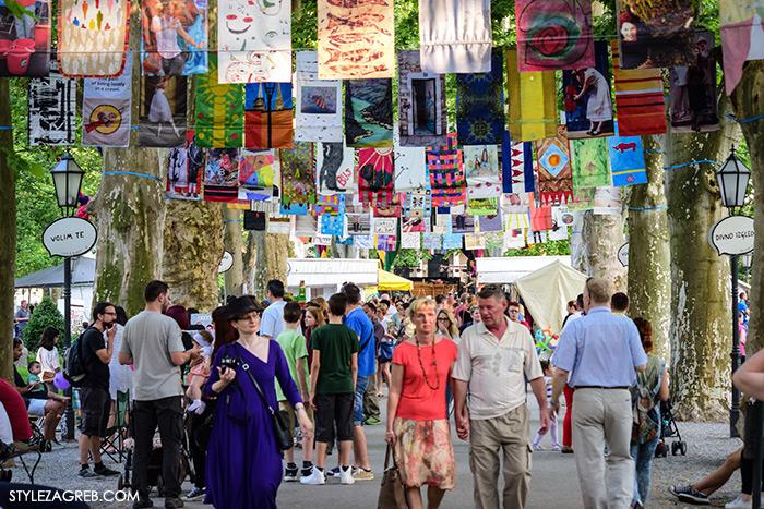Park Zrinjavac, street style Zagreb Cest is d'Best program, ulična moda zagrebačka špica subota proljetna ženska moda