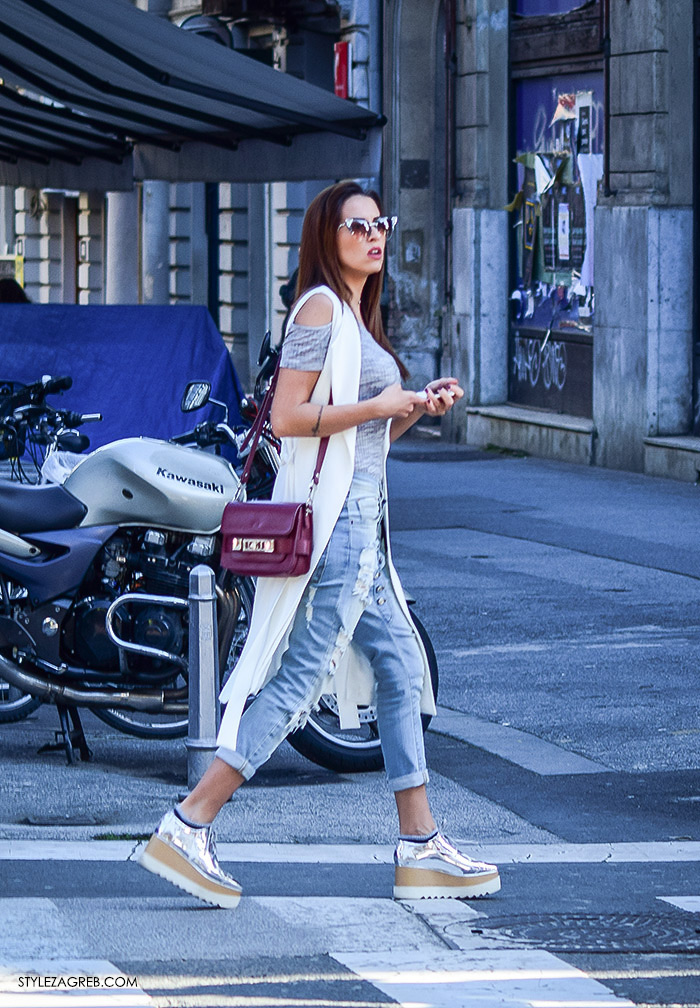 street style zagreb top off shoulder gola ramena, moderan outfit, ženska moda, cold shoulder top