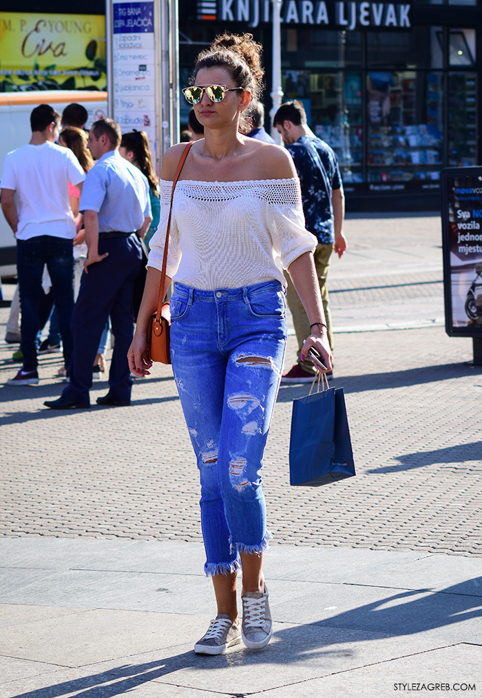 U fokusu ulične mode: gola ramena by StyleZagreb.com