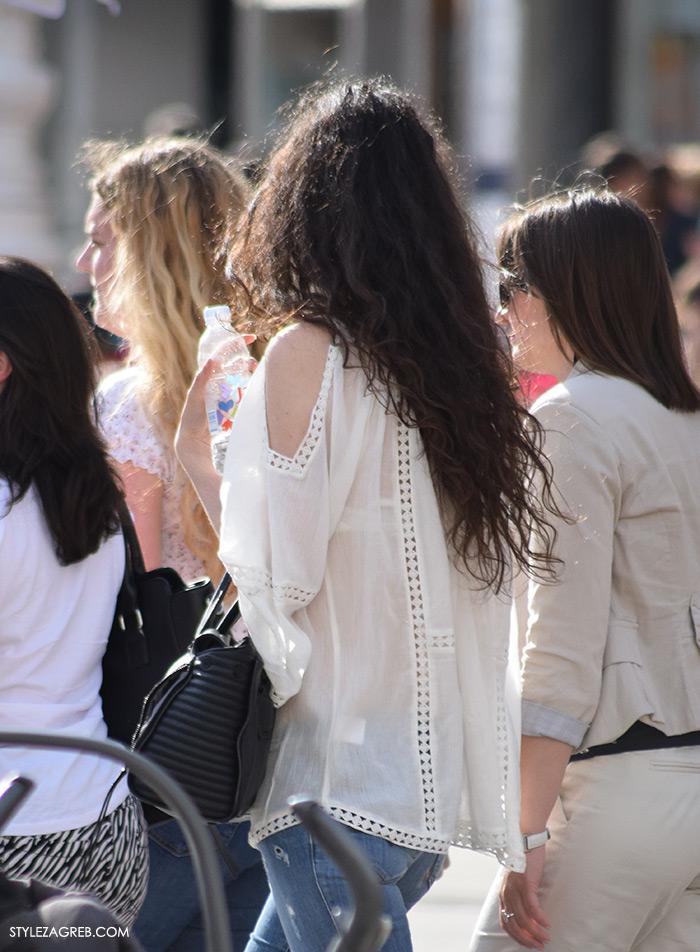 street style zagreb top haljina off shoulder gola ramena