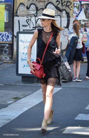 Dnevna inspiracija: Mala crna haljina sa slamnatim šeširom by StyleZagreb.com