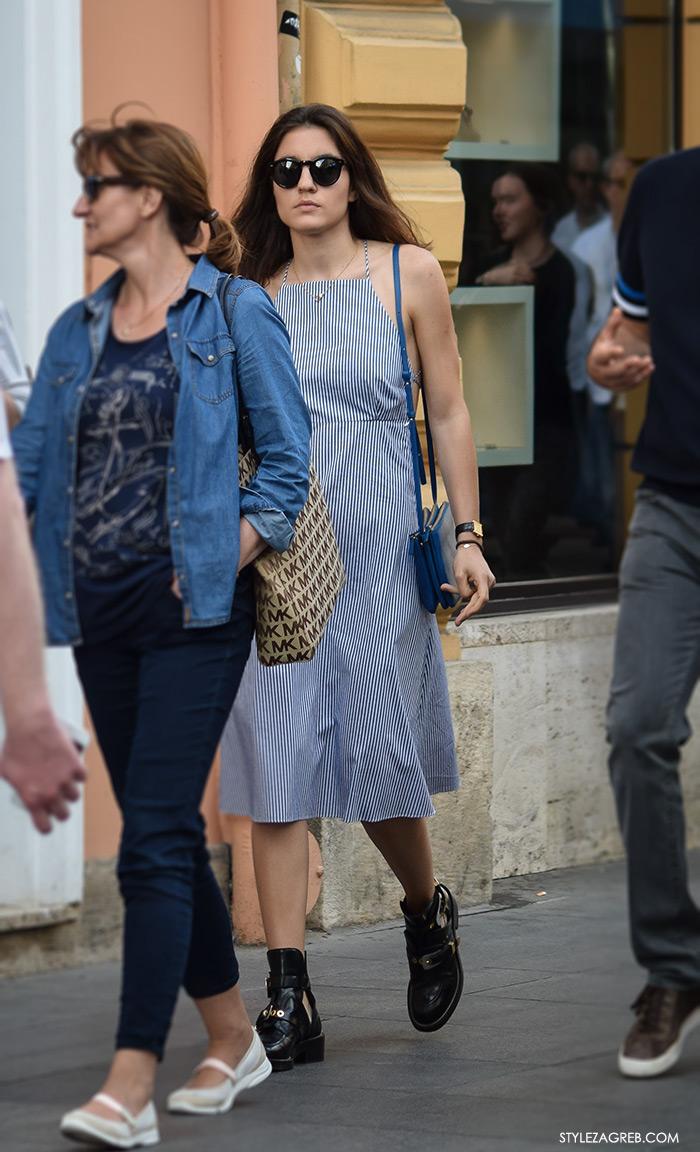 Street style Zagreb Hrvatska, ulična moda Zagreb, prosvjed Hrvatska može bolje 1.6.2016., Liza Tedeschi