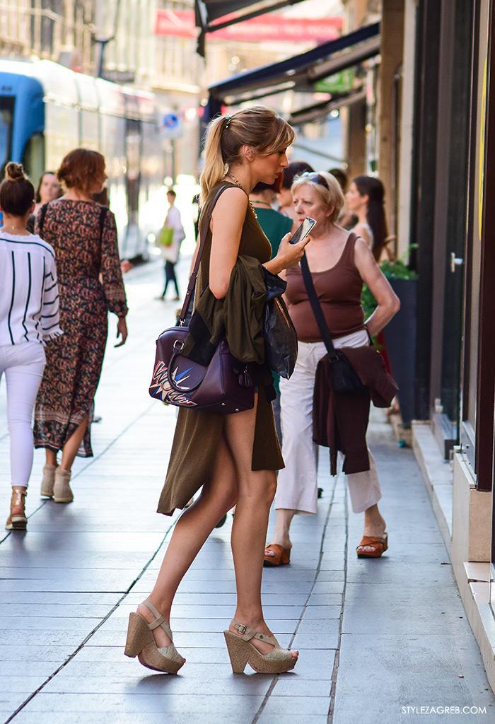 Ljeto ženska moda zagrebačka špica, street style Zagreb, zgodna žena