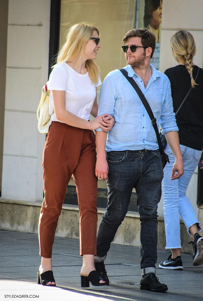 Ljeto ženska moda zagrebačka špica, street style Zagreb,