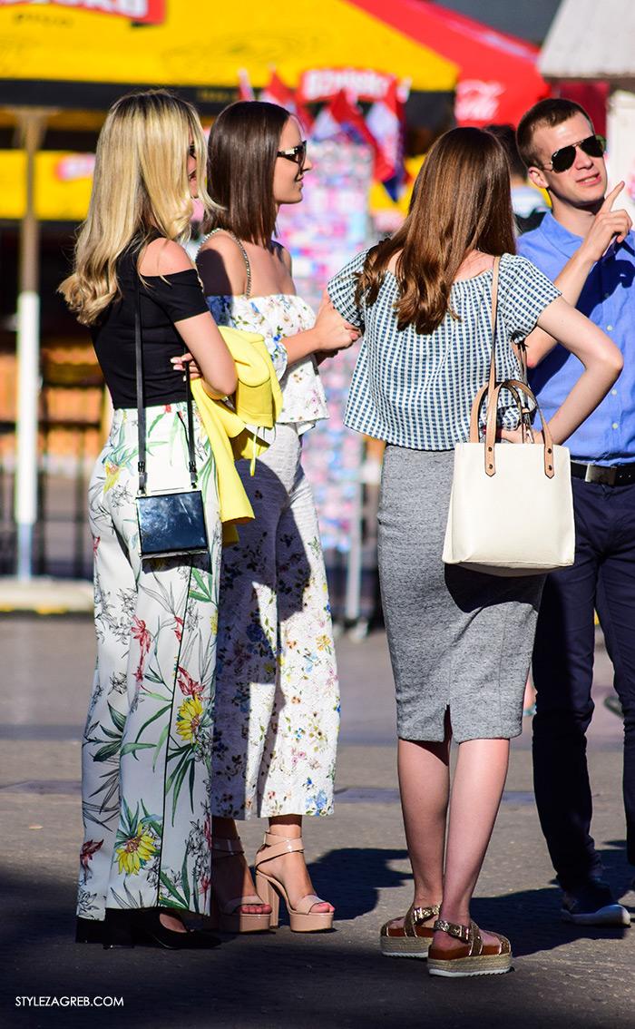Ljeto ženska moda zagrebačka špica, street style Zagreb